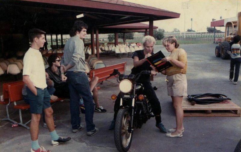 """Sting подписывает пластинку """"Police"""", юной Gwen Stefani"""