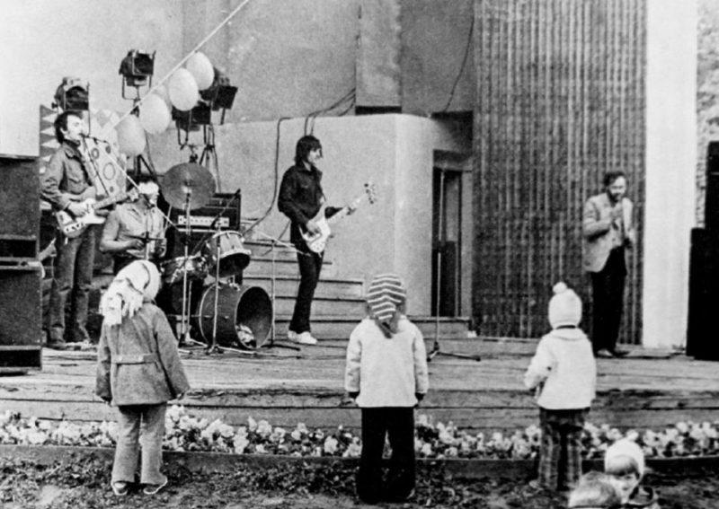"""Группа """"Пикник"""", осень 1981 года"""