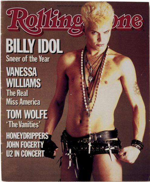 """1985, на обложке """"Rolling stone"""""""