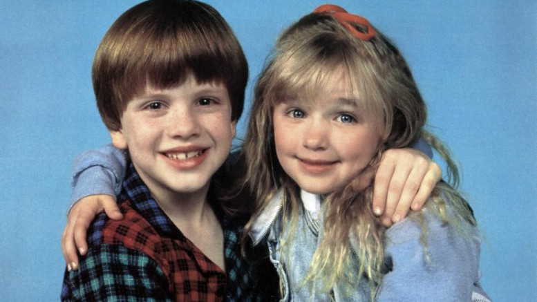 PROBLEM CHILD 2, from left: Michael Oliver, Ivyann Schwan, 1991. ©Universal Pictures