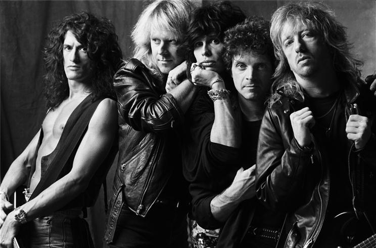 Aerosmith LA 1988