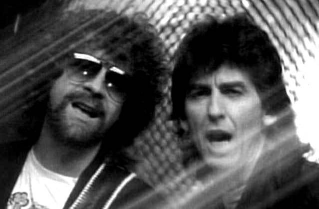 Jeff Lynne, George Harrison