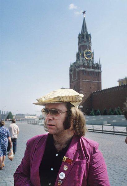 Элтон Джон на Красной площади в 1979 году