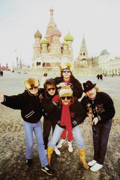 Uriah Heep на Красной площади, 1987 год.