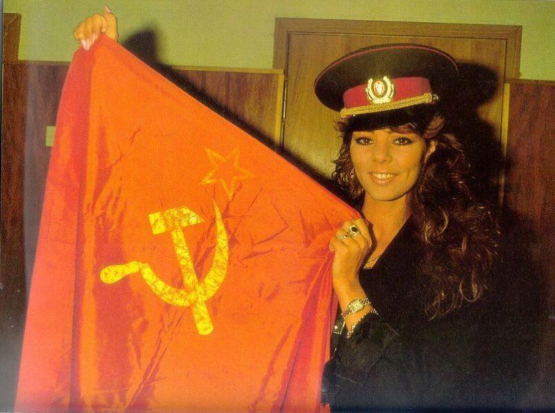 Сандра в Советском союзе