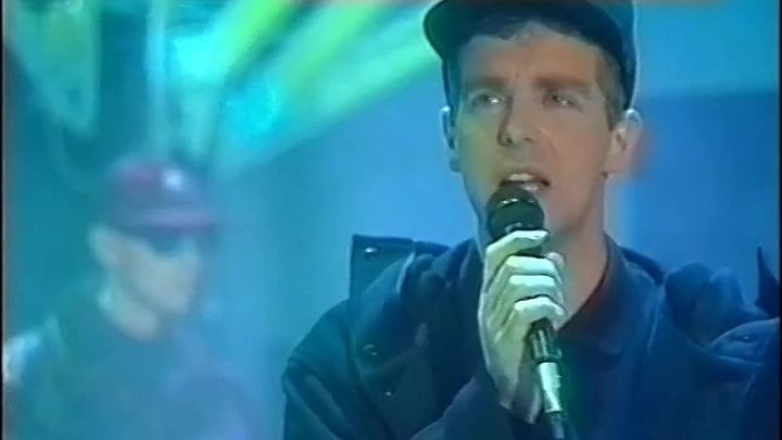 "Pet Shop Boys исполняют ""Rent"", Peter`s Pop Show 1987"