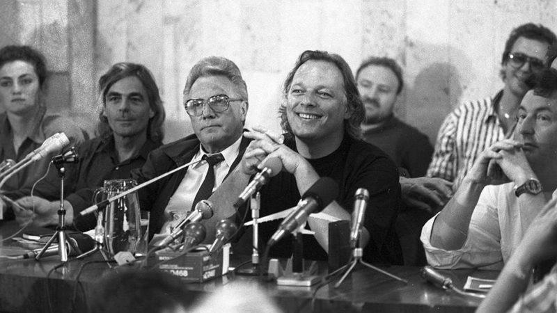 3 июня 1989 года, пресс-конференция