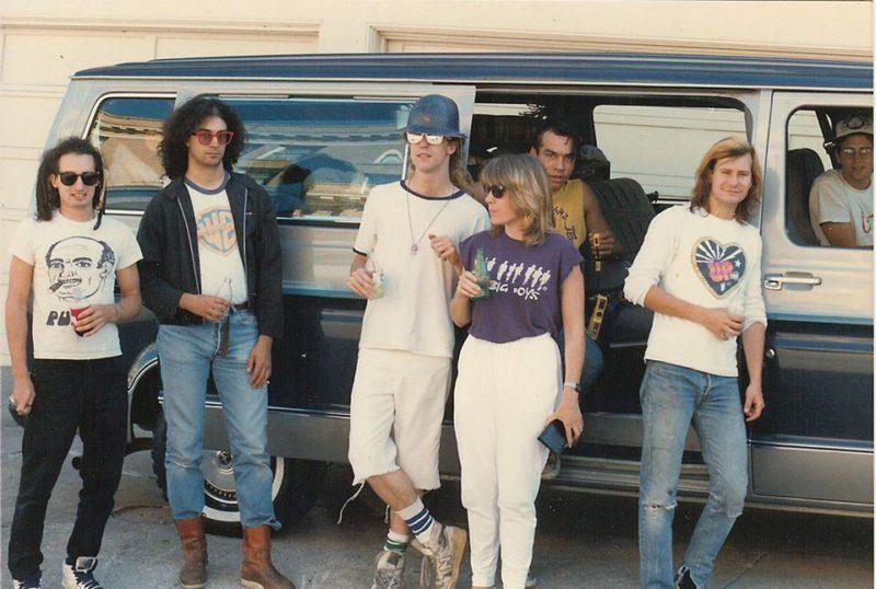 Первое турне, 1984