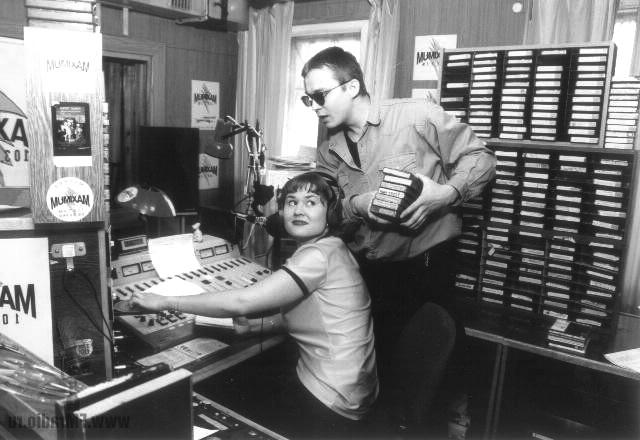 Оля Максимова и Костя Михайлов, 1995