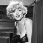 Мэрилин Монро на съемках фильма «В джазе только девушки»