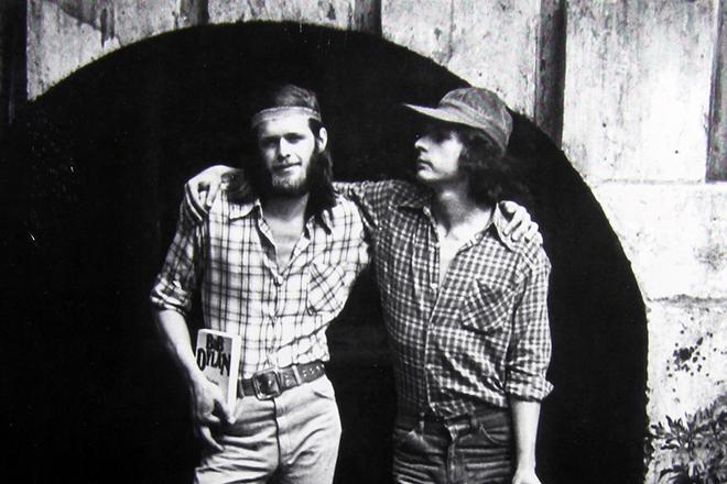 Борис Гребенщиков и Майк Науменко, лето 1978